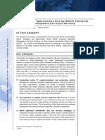 IDC Report-Mobile Enterprise Application Development
