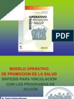 Modelo Operativo Promoción de la Salud -vinculacion