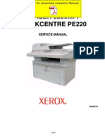 XEROX Phaser 3200MFP Service Manual Pages
