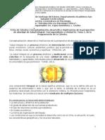 Ficha de Cátedra Introducción a la Psicología Clínica. Tema SALUD INTEGRAL. Lic. López Steinmetz.