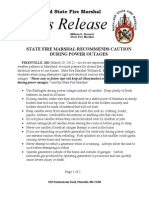 2012-03-29 Statewide Power Outage Safety