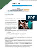 PMI Post SCRUM Basics - Michele Sliger 20110815