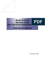 Machine+Code+D017,+D018,+D019,+D020,+D084,+D085+Field+Service+Manual