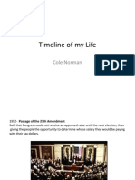 Timeline of My Life PDF