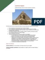 Arquitectura Egipcia WORD