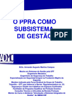 Seminario SENAC O PPRA Como Subsistema de Gestao Out2009
