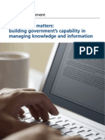 Information Matters - HM Government Strategy