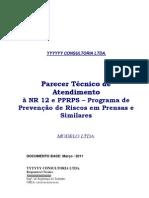 7 Parecer Tecnico Prensas Mar 2011 Modelo Com Cronogr PDF