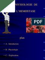 Physio Hemostase