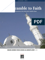 The Preamble to Faith