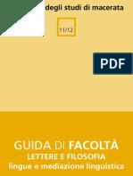 Mediazione Linguistica Macerata - Guida