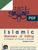 Islamic Manner of Eating