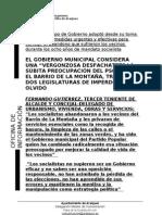EL SÚBITO INTERES DEL PSOE POR LA MONTAÑA