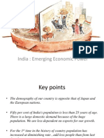 India Emerging Economic Power