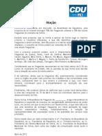 Moção da 'Plataforma Freguesias SIMtra'