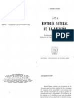 Hume, David - Historia Natural de La Religion