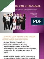 Protokol Dan Etika Sosial