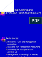 CVP Analysis Final
