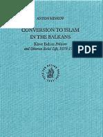 Conversion to Islam in the Balkans - ANTON MINKOV