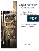 State Commission on Judicial Conduct Report