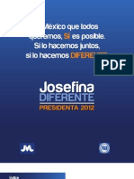 Josefina Diferente Presidenta 2012