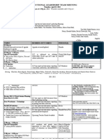 ILT Meeting Agenda 120412
