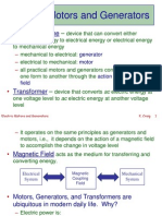 Electric Motors and Generators