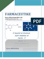Kimia Farmaceutike I (Pjesa e Pergjithshme)