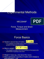 Force, Torque and Strain