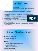 (2) History Anesthesia 2003-2007