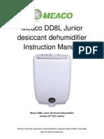Meaco DD8LJ User Manual