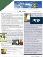 Rotary Newsletter April 9