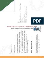 Petition PostCard NamesofPrisoners