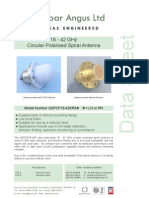 18 to 42 GHz Spiral Antenna Datasheet_web