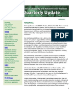 DDRS Quarterly Report April 2012