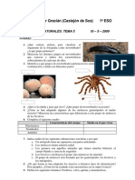 Examen Ciencias Naturales 1o ESO. Tema 5