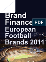 Top 30 European Football Brands 2011 Final Website