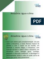 Amazonia Agua Clima