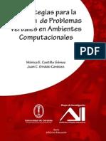 Libro Estrategias para la Solución de Problemas Verbales en Ambientes Computacionales - Juan C Giraldo - Mónica Castillo Gómez
