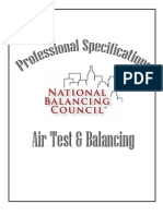 NBC Certified Air Balancing Specification - New
