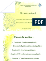 Cours Electrotechnique I