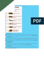 Klasifikasi Konstipasi Berdasarkan Bristol Stool Chart