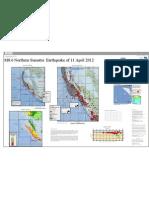 Poster Gempa Tektonik Sumatera 11 April 2012 dari USCGS