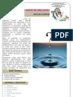 P 05 Determinación del radio de una gota de agua