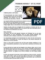 EL PERRO PASTOR CHIRIBAYA, LOS PERROS MOMIA DEL PERU