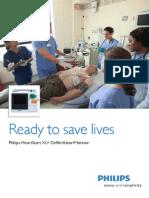 Philips HeartStart XL+ Defibrillator Monitor