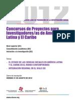 Convocatoria Becas CLACSO-Asdi 2012 330