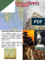 Comienzo de La Filosofia en Grecia