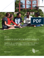2011 Distance Education Survey Results by ITC