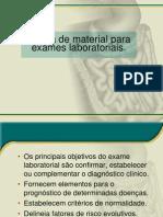 Coleta de Material Para Exames Laboratoriais.